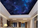 Starry Night Wall Mural wholesale Interior Ceiling 3d Wallpaper Custom Murals Wallpaper Fantasy Night Starry Sky Zenith Ceiling Mural Wall Paper for Walls 3d Sports Wallpaper