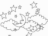 Stars In the Sky Coloring Pages Coloring Stars