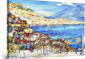 Startonight 3d Mural Wall Art Amazon Startonight Canvas Wall Art Abstract Amalfi