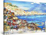 Startonight Mural Wall Art Amazon Startonight Canvas Wall Art Abstract Amalfi