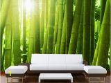 Startonight Mural Wall Art Mural Wall Art Decor Green Bamboo Startonight 8 Feet 4 Inch by 12 Feet