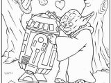 Starwars Coloring Pages for Kids Star Wars Valentine Coloring Page