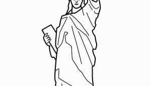 Statue Of Liberty Coloring Page Easy Statue Liberty Drawing Step by Step at Getdrawings