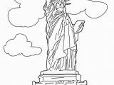Statue Of Liberty Coloring Pages for Kindergarten Free Printable Statue Of Liberty Coloring Pages for Kids