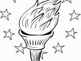 Statue Of Liberty torch Coloring Page 25 Statue Liberty torch Coloring Page