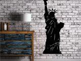 Statue Of Liberty Wall Mural Statue Of Liberty New York City Decor Wall Art Mural Vinyl