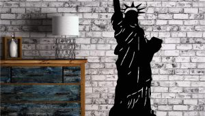 Statue Of Liberty Wall Mural Statue Of Liberty New York City Decor Wall Art Mural Vinyl