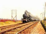Steam Train Wall Mural Ns Een Blikken Tinus Ns 2100 Verleent Voorspan Aan Een