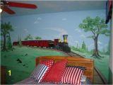 Steam Train Wall Mural Old Train Wall Murals Bedroom Ideas