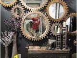 Steampunk Wall Murals Cogwheel Mirrors From Mercana … Steampunk