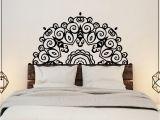 Stick On Murals for Walls Headboard Wall Sticker Wall Mural Bed Bedside Mandala Vinyl