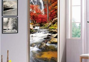 Stick On Murals for Walls Uk S Twl E Modern Creative Flowing Door Decals Decorated Living