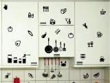Sticker Mural Acheter Cuisine Sticker Mural Outils Salle Amovible Sticker Mural