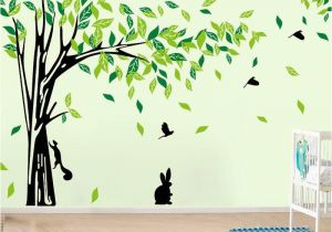 Stickers Mural Tree Wall Sticker Living Room Removable Pvc Wall Decals Family