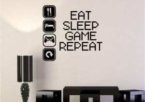 Stickers Mural Vinyl Decal Gaming Video Game Gamer Lifestyle Quote Wall Sticker