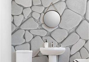 Stone Mural Designs Carta Da Parati Murale Con Ghiaia Grigia