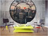 Stone Wall Mural Home Depot Foto Tapete Nyc Time Zone