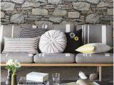 Stone Wall Mural Wallpaper Grey Stone Wall Ultra Removable Wallpaper