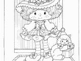 Strawberry Shortcake Cartoon Coloring Pages Strawberry Shortcake S Birthday Party Colouring Book
