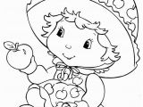 Strawberry Shortcake Cartoon Coloring Pages the Baby Apple Dumplin