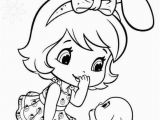 Strawberry Shortcake Doll Coloring Pages Bunny Strawberry Coloring Pages