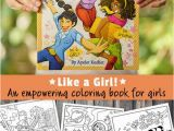"Strong Women Coloring Pages Like A Girl "" the Empowering Coloring Books for Girls"