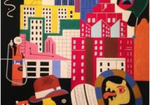 Stuart Davis New York Mural 122 Best Stuart Davis Images