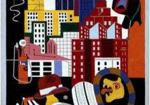 Stuart Davis New York Mural 346 Best Stuart Davis Images