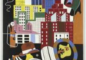 Stuart Davis New York Mural Beautiful Empire State Building Artwork for Sale Posters and Prints