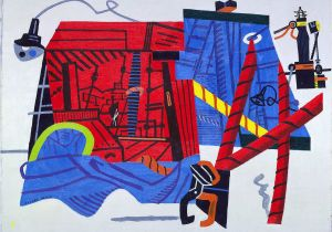 Stuart Davis New York Mural New York Mural Stuart Davis Search Collections