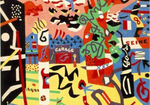 Stuart Davis New York Mural Stuart Davis Report From Rockport 1940
