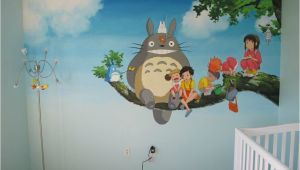 Studio Ghibli Wall Mural Trailer Weekly 95