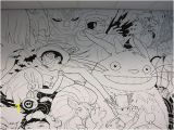 Studio Ghibli Wall Mural Wall Mural as Opposed to Carousel Animals