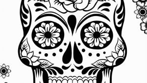 Sugar Skull Coloring Pages for Adults Sugar Skull Coloring Pages Best Coloring Pages for Kids