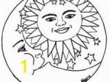 Sun and Moon Coloring Pages 161 Best Sun Moon and Stars Coloring Images On Pinterest