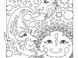Sun and Moon Coloring Pages 23 Sun and Moon Coloring Pages