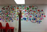 Sunday School Wall Murals Bubble Tree I Painted In My Classroom