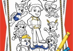 Sunny Day Nick Jr Coloring Pages Paw Patrol Holiday Coloring Pack
