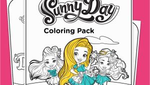 Sunny Day Nick Jr Coloring Pages Sunny Day Coloring Pack Printables Play & Learning