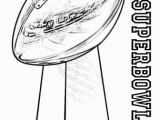 Super Bowl 2019 Coloring Pages Free Printable Superbowl Trophy Coloring Page