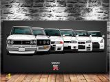 Super Car Wall Mural 2019 Nissan Vintage Skyline Super Car Canvas Prints Wall Art Oil Painting Home Decor Unframed Framed 24×48 From Wumami $5 98
