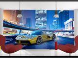 Super Car Wall Mural High Quality Custom 3d Wallpaper Murals Wall Paper to Enjoy the Cool Sports Car Murals Tv Wallpaper Decoration Living Room Wallpaper Wallpaper