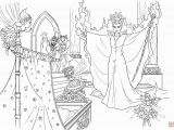 Super Coloring Pages Disney Princess Maleficent Curses the Infant Princess Coloring Page