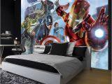 Super Hero Wall Mural Mauk Wall Best Avenger Wallpaper