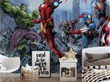 Super Hero Wall Mural Pin On Murs