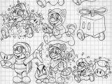 Super Mario 3d World Coloring Pages Ausmalbilder Super Mario 3d World