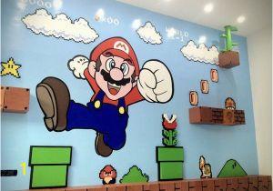 Super Mario Bros Wall Mural Mario Wall Mario In 2019