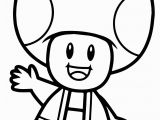 Super Mario Brothers toad Coloring Pages Super Mario Bros toad Coloring Page