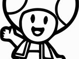 Super Mario Brothers toad Coloring Pages toad Mario Drawing at Getdrawings