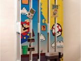 Super Mario Brothers Wall Murals Super Mario themed Pallet as A Functional Decoration Nes